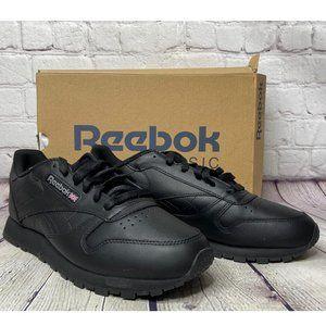 Reebok Women's Classic Leather Black